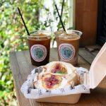 【外苑前】緑に包まれたコーヒースタンドで、土曜日限定のフルーツサンドをパクリ!
