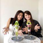 【シャインマスカット】「Cafe de Peru」の新作パフェはぶどうのオンパレード!