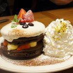 【エッグスンシングス新作】「クリスマスショコラショートパンケーキ」を頂きました!