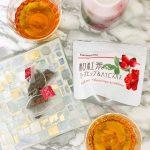 クリスマスのスイーツに、富士茶農業協同組合「和紅茶+ローズヒップ&ハイビスカスTB」が合いそう