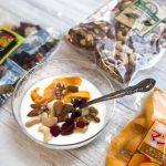【朝食に!】金鶴食品の「素焼きミックスナッツ」「ドライマンゴー」「フルーツミックス」