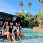 【どこの南国?伊豆です】下田蓮台寺温泉「清流荘」に通年入れる天然温泉プールがありました!