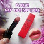 【新作】「KATE リップモンスター」なんでこんなに色モチが良いんだああああ!