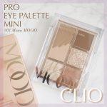 【一見イエベ向き?と思いきや…】CLIOの「プロアイパレット ミニ(01モノムード)」が優秀!