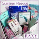 【コスメが毎月届く】「RAXY」の7月ボックス開封!テーマは《Summer Rescue》でした。