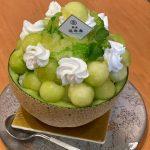 「銀座 福禄寿」で 1日4個限定の「まるごとメロンかき氷」。気合を入れて開店と同時に行ってきました!
